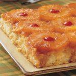 Pineapple Upside Down Cake (9-inch square pan)