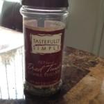 Taste Test Tuesday: Dried Tomato and Garlic Pesto